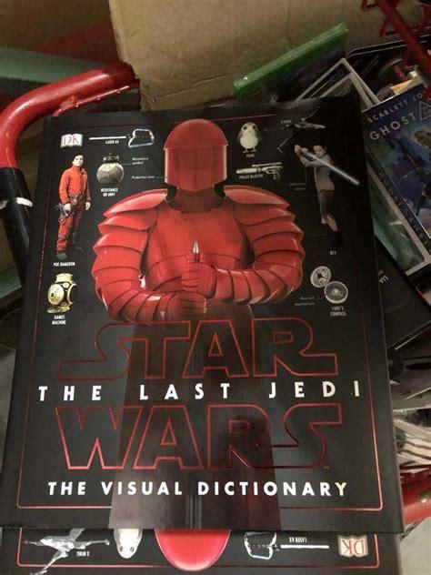 libro star wars the last spoilers filtran el libro de arte de star wars los 250 ltimos jedi