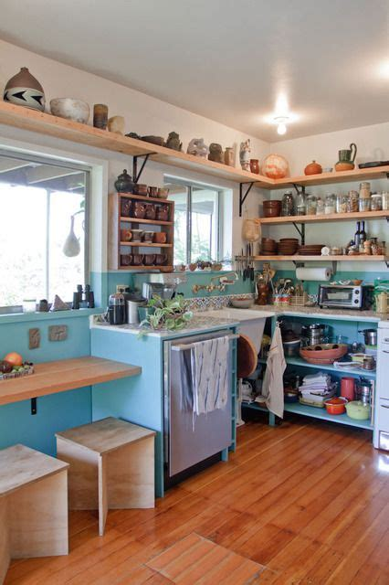 Open Shelving Kitchen Apartment Therapy Beatrice Ramsey S Cultured Echo Park Casa House Tours