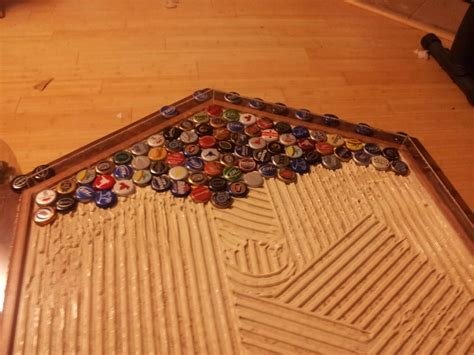 cap table top bottle cap table top designs imgkid com the image