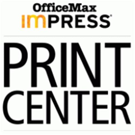 Office Max Copy Center by Image Gallery Impress Logos