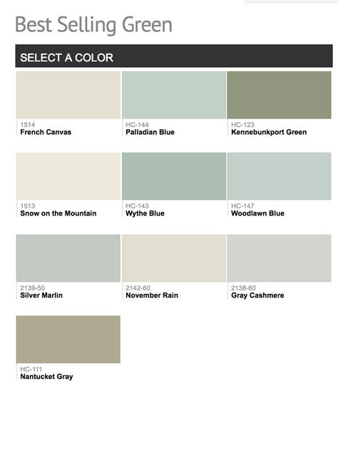 benjamin moore most popular greens most popular benjamin moore paint colors