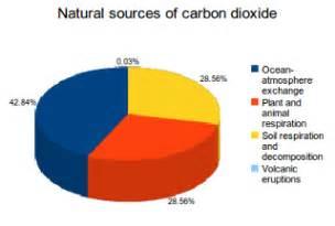 Natural sources of carbon dioxide co2 emissions