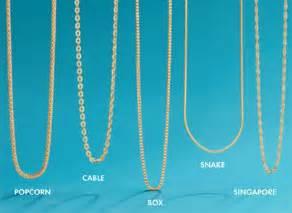 Jewelry chain styles for men amp women