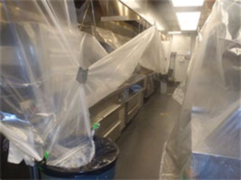 commercial hood cleaning grease containment kitchen