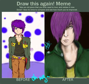 Draw This Again Meme Fail - draw me again meme by blacksignature on deviantart