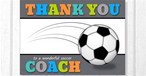 Give Cheer Visa Gift Card - printable team coach thank you card for soccer creative graphics pinterest