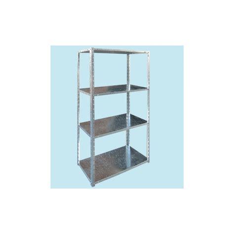 scaffale zincato kit scaffale zincato 150x30x75