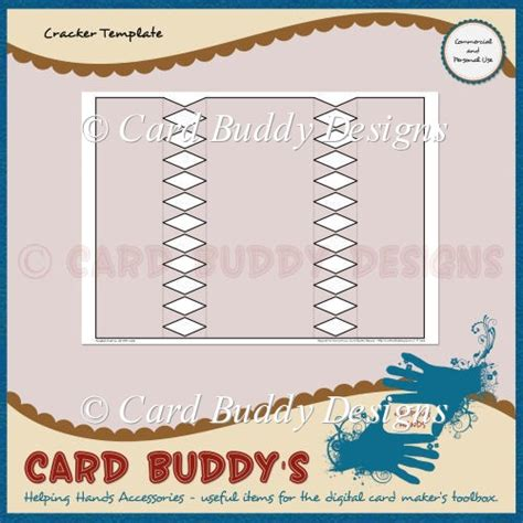 Cracker Card Template Free by Cracker Template Cu Pu 163 1 80 Instant Card