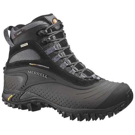 merrell mens winter boots s merrell 174 snowmotion 8 waterproof boots 159539