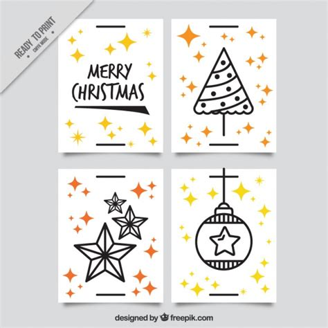 design natal pacote do cart 227 o de natal alegre com elementos de design