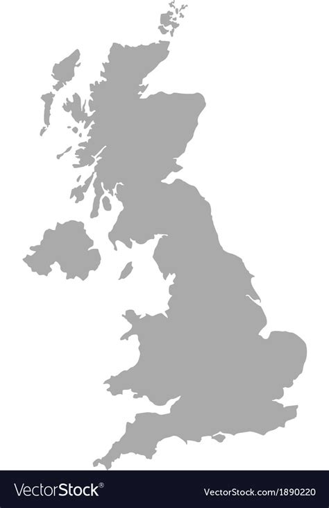 vector map of the uk royalty free stock images image 4213469 map of united kingdom royalty free vector image