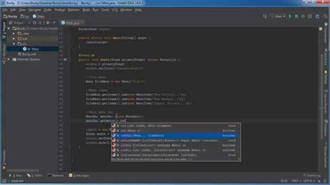 java tutorial youtube bucky javafx java gui tutorial 21 making menus acrosoft