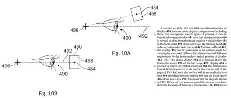design of google glass patent awarded to google hints at new design for google