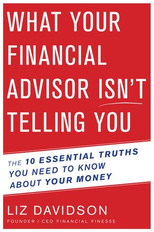 money isn t the problem you are ebook what your financial advisor isn t telling you the 10