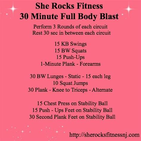 30 minute blast work it out