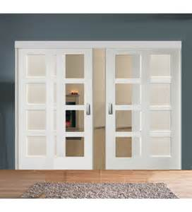 Sliding Panel Room Divider Sliding Room Divider With Glazed Solid Panel Doors Emerald Doors