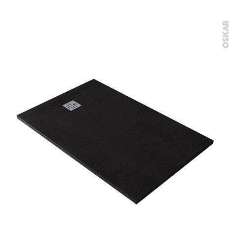 receveur de plat 140x90 receveur de plat bali r 233 sine rectangulaire 140x90 cm noir oskab