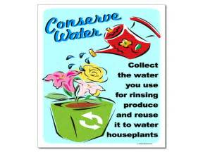 Examples of conservation posters conserving water conservation poster