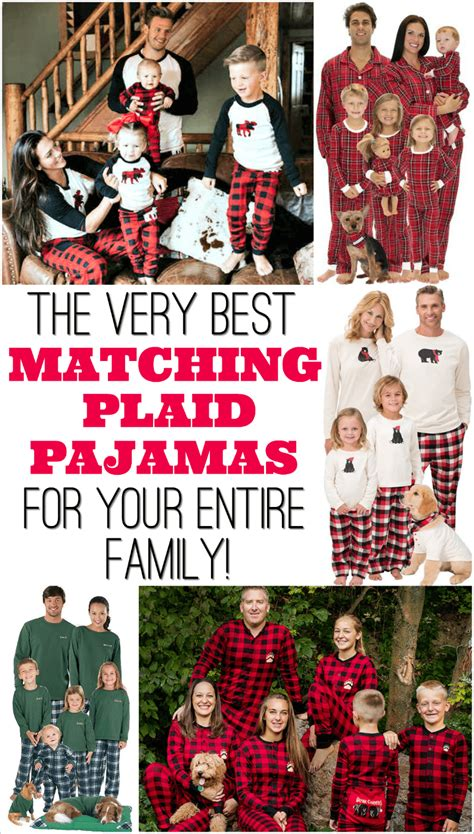 ideas for funny christmas pajama party plaid family pajamas the ultimate shopping guide with pictures