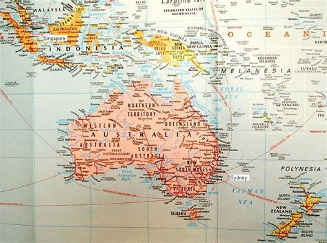 map of australia and islands surrounding driverlayer search engine