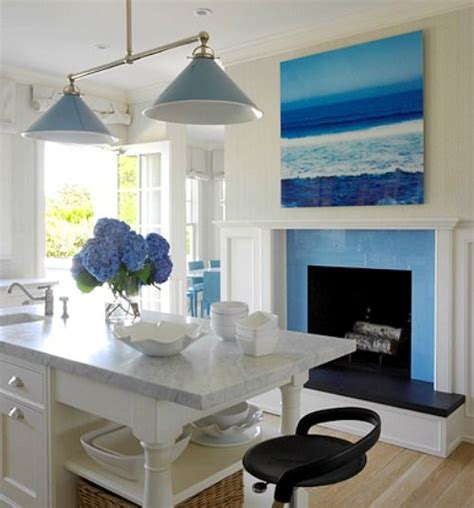 Coastal Kitchen Items blue for a kitchen http www completely coastal