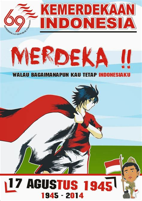 Kaos Buat Perlombaan 17 Agustusan design poster 17 agustus 1945 drian mardiana