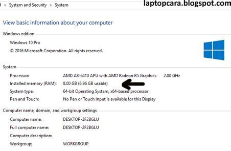 Upgrade Ram Laptop Lenovo G40 oktober 2016 cara memperbaiki laptop