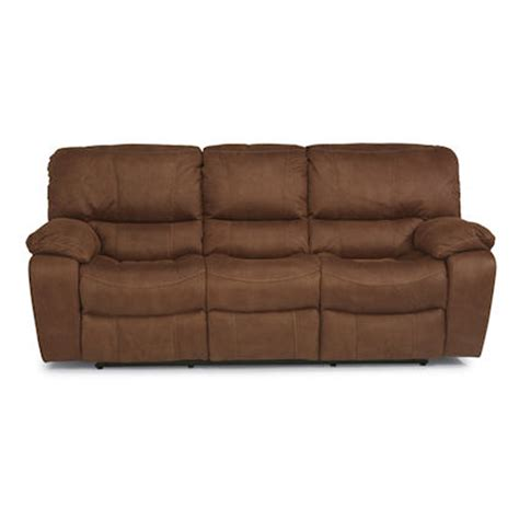 flexsteel leather sofa price flexsteel 1541 62 grandview double reclining sofa discount