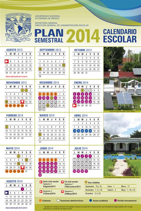 Calendario Escolar Mexico 2014 Calendarios Escolares 2013 2014 Escolar Mx