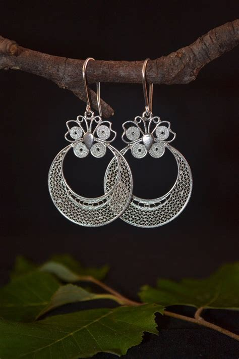 Handmade Sterling Silver Jewelry - unique handmade sterling silver earrings by