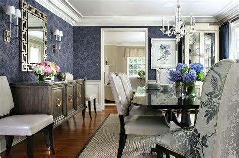 Navy Blue Rooms Living coolly modern formal dining room sets to consider getting