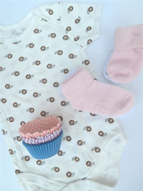 How To Make Baby Shower Cupcakes by Step By Step Tutorial For Adorable Baby Onesie