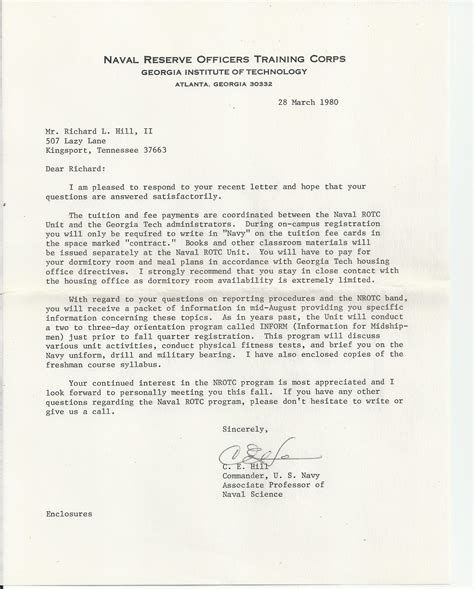 Letter Of Recommendation For Army Rotc Scholarship navy rotc scholarship a new journey