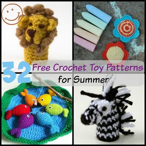 free crochet pattern toy net 32 free crochet toy patterns allfreecrochet com