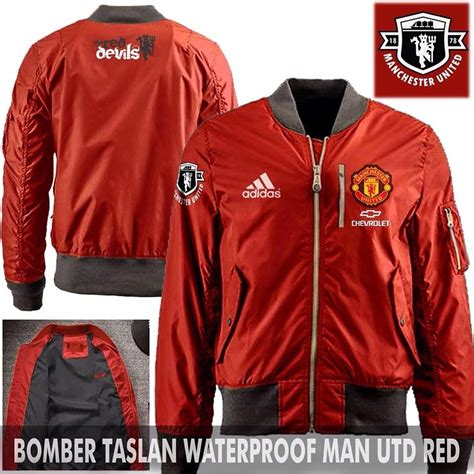Jaket Bomber Bola Waterproof Chelsea jual jaket bomber jokowi pilot manchester united murah