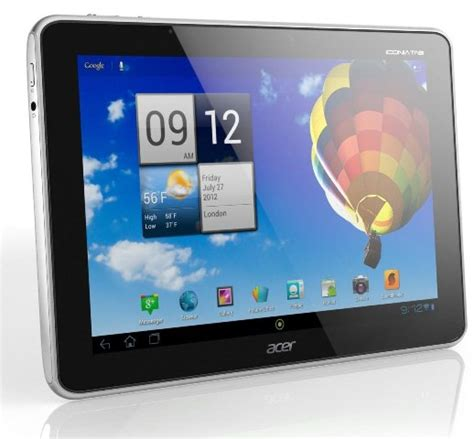 Tablet Asus Dan Acer The Winning Tablet Acer Iconia Tab A510 Vs Asus Transformer Prime Tf201