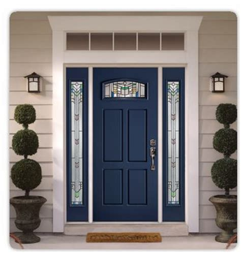 Steel Front Doors With Windows 25 Best Ideas About Fiberglass Entry Doors On