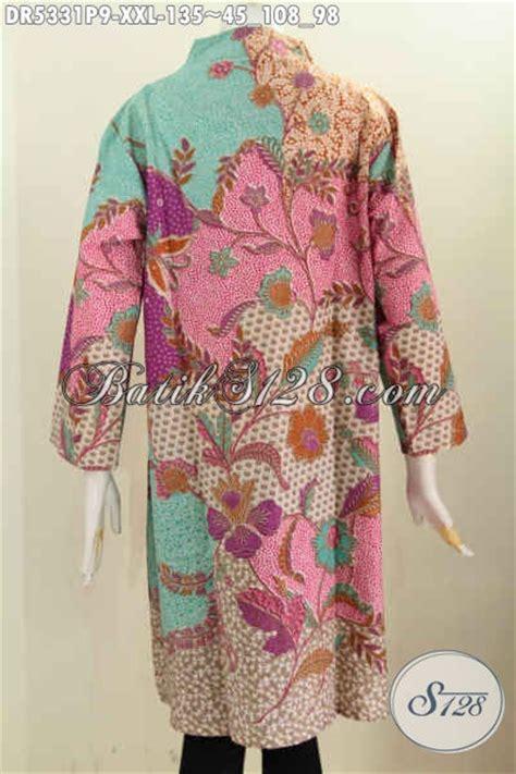 Pusat Fashion Wanita pusat baju fashion batik sedia dress batik kerah