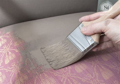 paint upholstery fabric painting fabric with chalk style paints granny chair