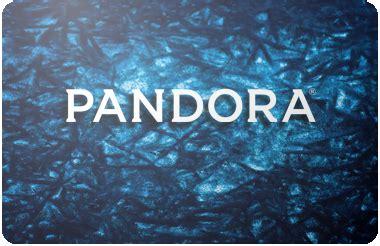Buy Pandora Gift Card - buy discount entertainment gift cards cardcash