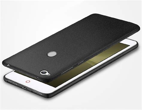 ultra thin surround frosted soft silicone back cover