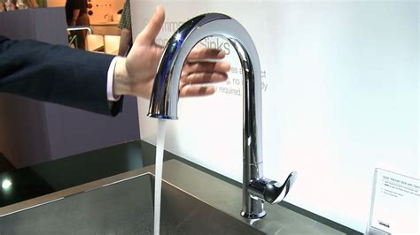 Sensate Touchless Kitchen Faucet by Kohler Sensate Touchless Faucet Consumer Reports Video Hub