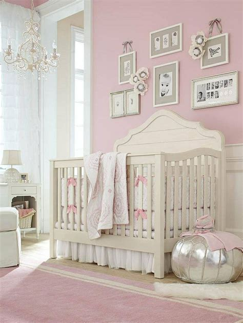 pink nursery pretty pink girls nursery baby pinterest pink walls