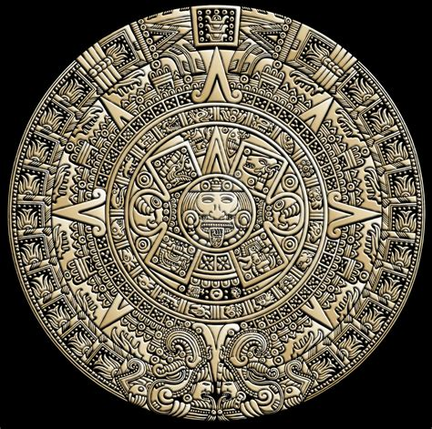 Azteca Calendario Aztec Calendar By Justinaples On Deviantart