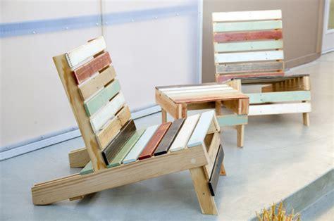 siege en palette comment fabriquer un fauteuil en palette pour