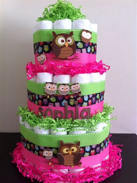 Owl Decoration For Baby Shower by Owl Cakes Cakes And Owl Baby Showers On