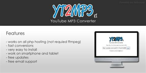 download mp3 youtube php script yt2mp3 youtube mp3 converter php script php multimedia