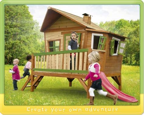 spielhäuser für den garten wickey stelzenhaus axi kinderhaus holz spielhaus