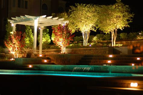 Backyard Pool Lighting Style Spotters 7 Garden Patio Must Haves