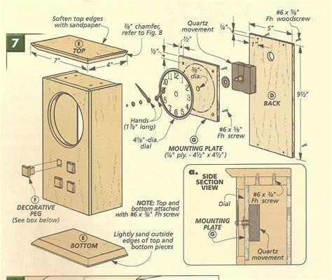 free clock plans woodworking diy mantel clock plans woodworking plans free